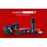 【香港行貨】Focusrite Scarlett 2i2 Studio 3rd Gen