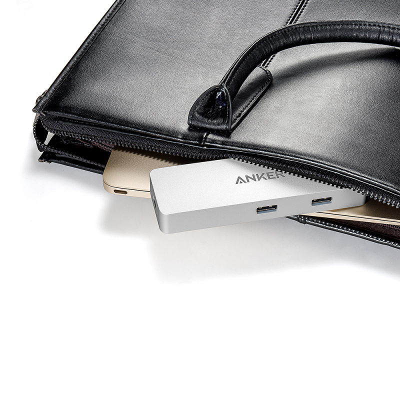 Anker Premium USB 3.0 + Ethernet + PD USB-C 集線器