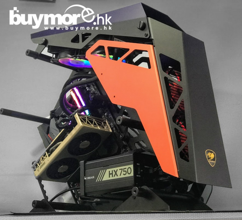 未來科技 AMD Ryzen 9 3900X / GIGABYTE X570 AORUS PRO WIFI / Corsair Vengeance 16G / Intel SSD 760p NVMe SSD / MSI Radeon RX5700XT EVOKE / COUGAR CONQUER / HX750