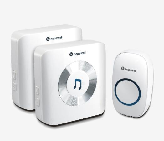 Hopewell 300m Plug-In Wireless Doorbell (Twin Pack) 一拖二無線門鈴 DB-11