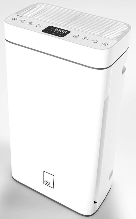 德國O2U Air 488 專業高效除甲醛空氣淨化器