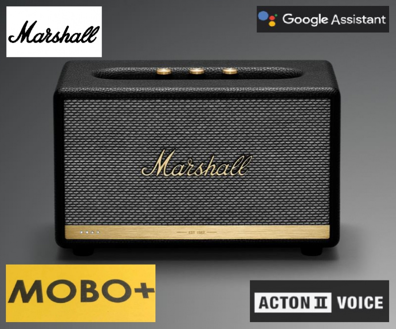 MARSHALL ACTON II VOICE WITH THE GOOGLE ASSISTANT BUILT-IN [聲控版]