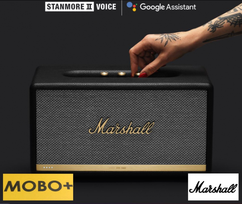 MARSHALL STANMORE II VOICE WITH THE GOOGLE ASSISTANT BUILT-IN [聲控版]