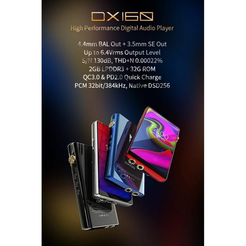 iBasso DX160 (首批只有黑色) 全球最抵 ~ 安卓4.4mm 播放器 [4.4MM/3.5MM]