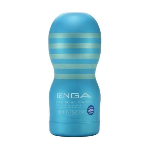 TENGA 冰爽藍口交式自慰杯-限量版