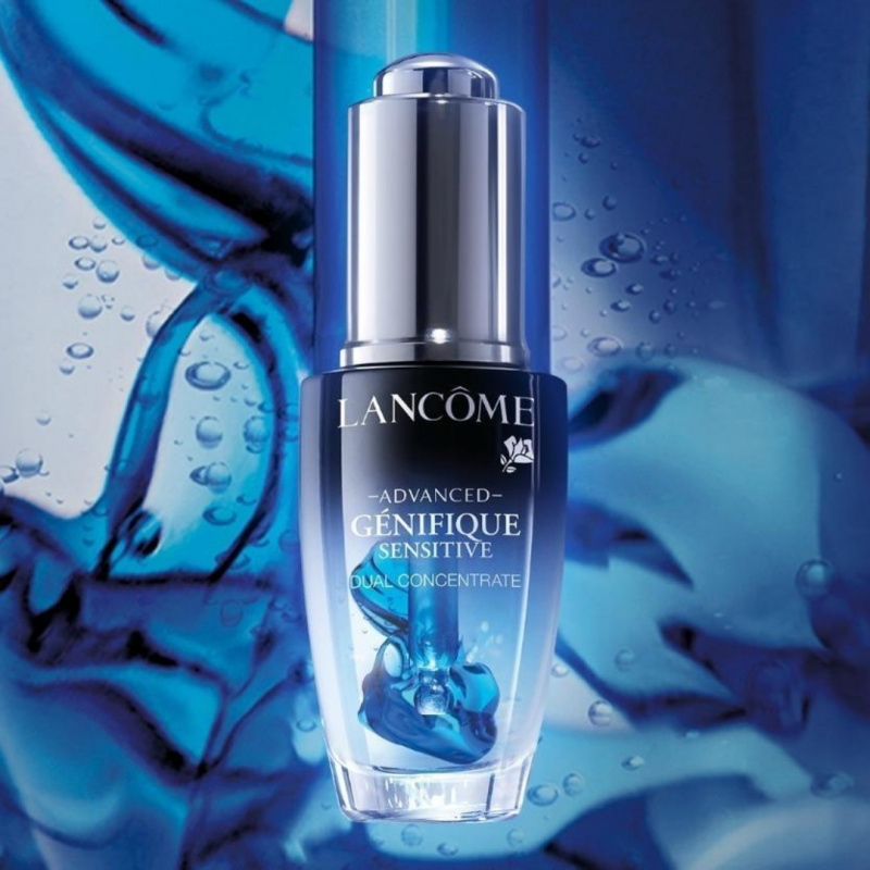 (買一送一!) Lancome Advanced Genifique Sensitive Dual Concentrate 升級版嫩肌活膚雙精華 20ml