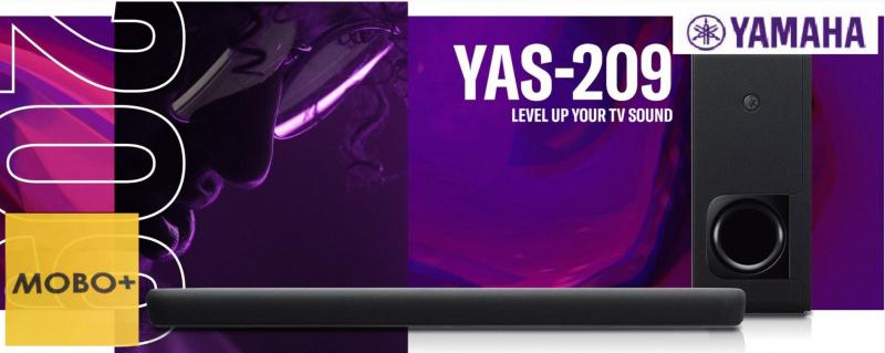 【香港行貨】Yamaha YAS-209 Soundbar [YAS209]
