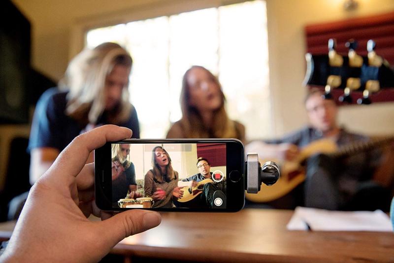 SHURE MV88 iOS數字立體聲電容麥克風