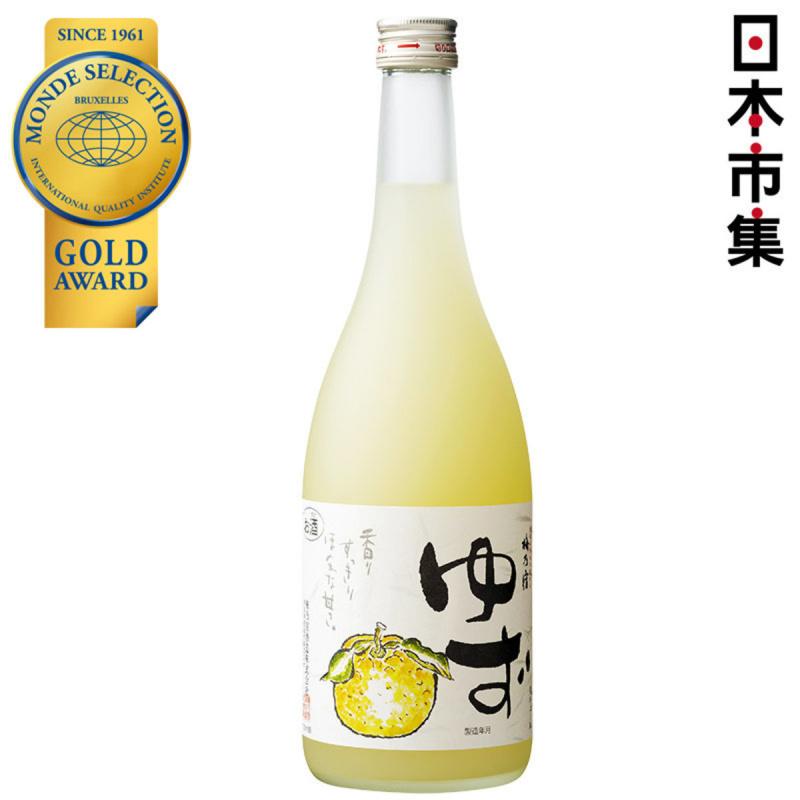 日版 梅乃宿 (金賞) 果肉柚子酒 720ml【市集世界 - 日本市集】