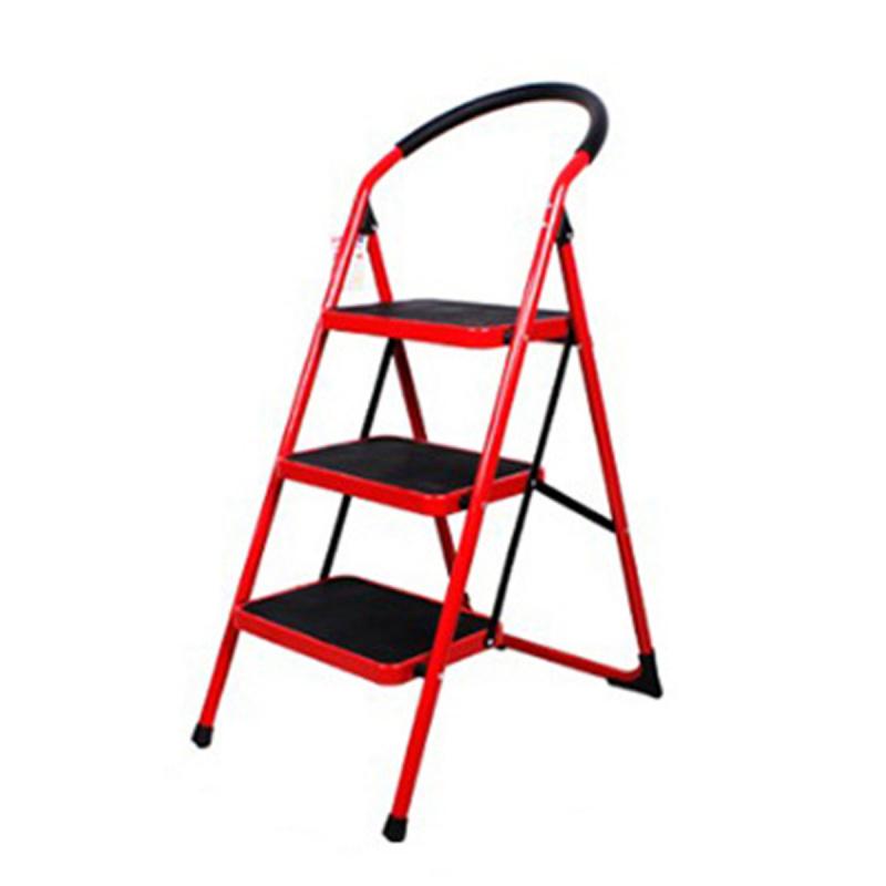 家居防滑安全摺梯 [兩級(白色)/三級(紅色)]