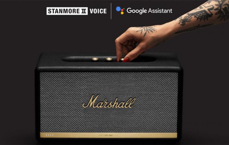 [全港免運]【香港行貨】MARSHALL STANMORE II VOICE WITH THE GOOGLE ASSISTANT BUILT-IN [聲控版]