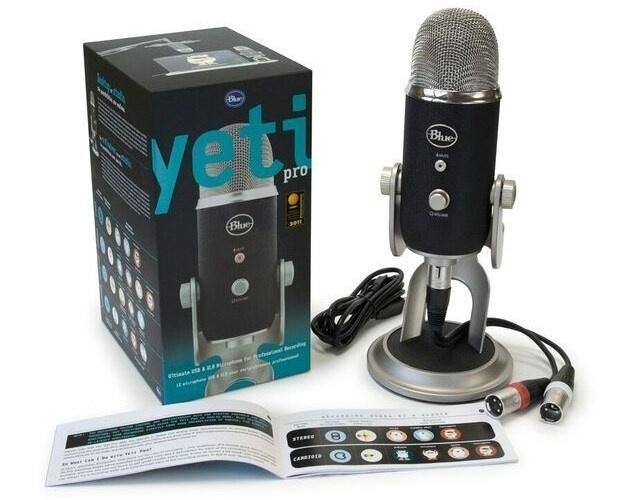Blue Yeti Pro (XLR 及 USB 兩用 麥克風)