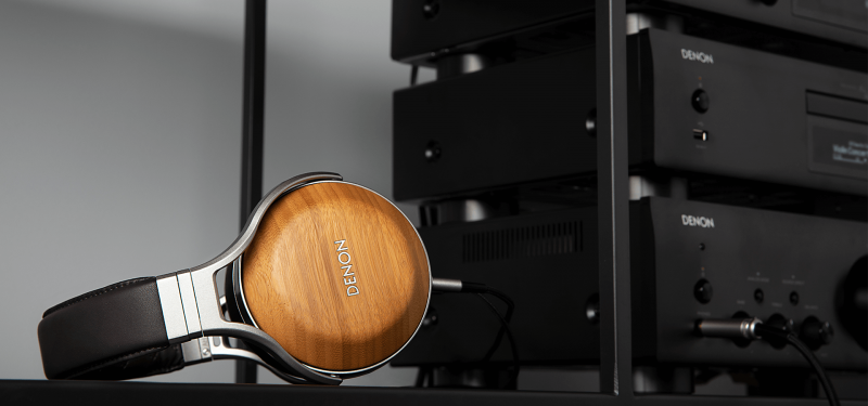 [全港免運]【香港行貨】DENON 優質的竹木頭戴式耳罩耳機 AHD9200