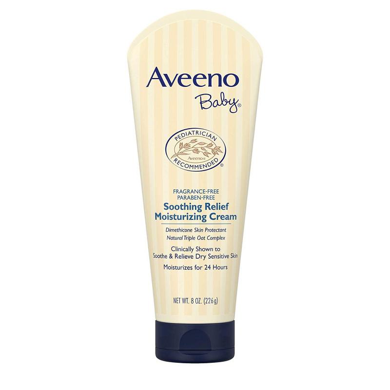 Aveeno Baby 嬰兒舒緩潤膚霜 Soothing Relief Moisurizing Cream  8oz