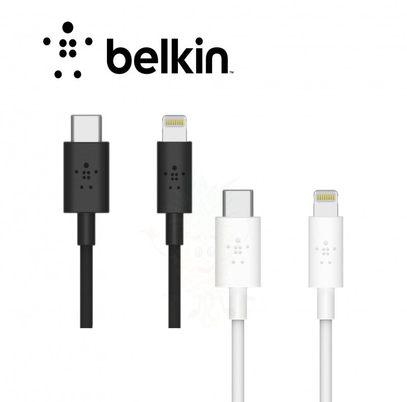 Belkin BOOST↑CHARGE™ USB-C™ Cable with Lightning Connector