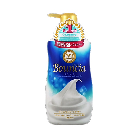 日本 COW 牛乳石鹼美肌保濕濃密泡沫沐浴乳 550ml