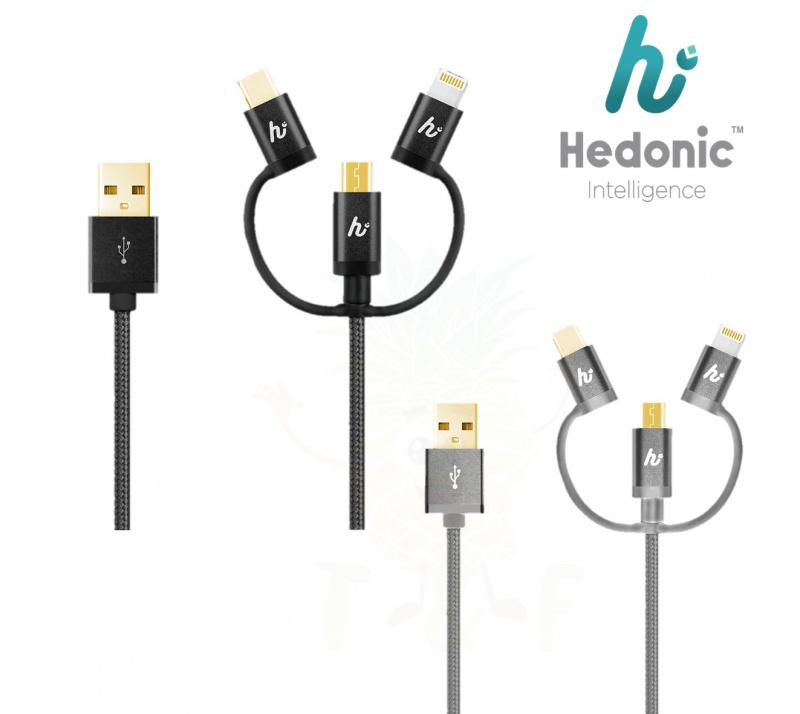 Hedonic 3 in 1 充電傳輸線