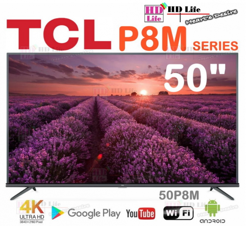 "TCL 50"" P8M Android 超高清電視 (50P8M)"
