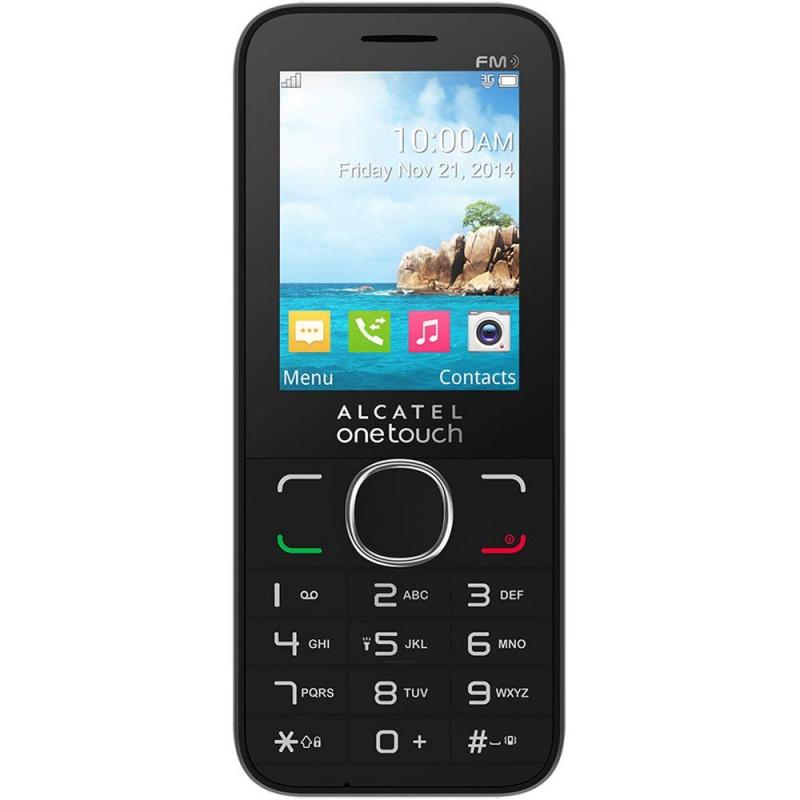 Alcatel - 2038N 雙卡雙待 手提電話 灰色