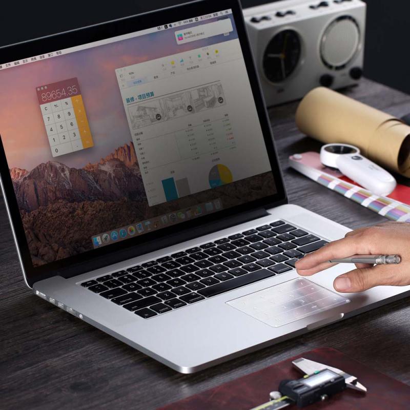 Numpad 鍍膜鍵盤 for Macbook Pro