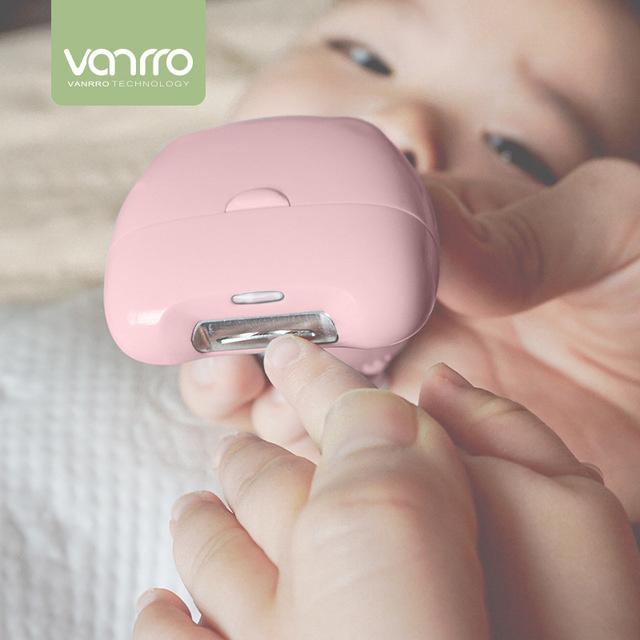 VANRRO Babynice 專業嬰兒電動指甲剪 [3色]