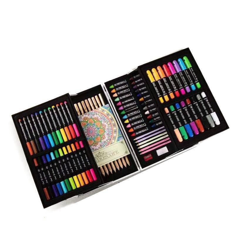 Mobee - 英國小象兒童繪畫套裝 水彩蠟筆畫筆學生美術用品工具藝術禮盒 安全無毒