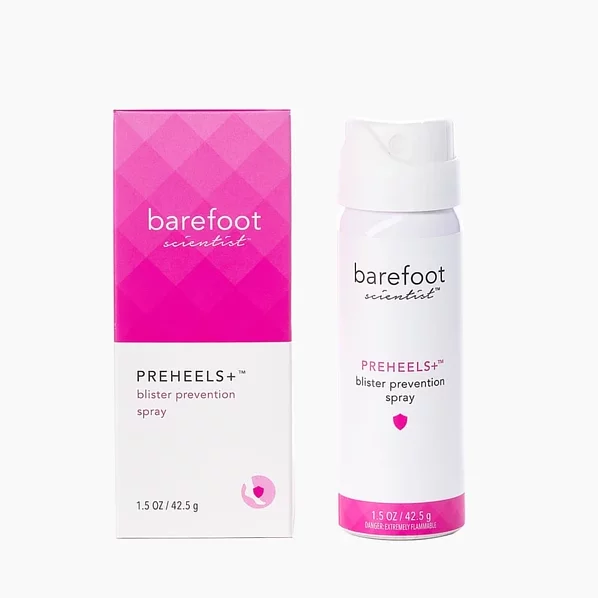 Barefoot PreHeels + 專利防刮腳噴霧