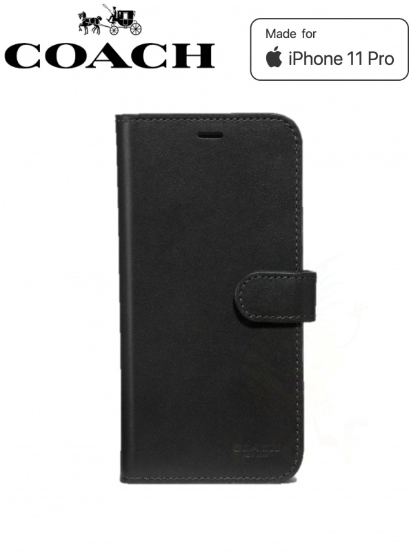 Coach Leather Folio Case iPhone 11 Pro