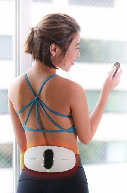 日本Mytrex EMS Heat Stretch 按摩器 (MEHS19-W)