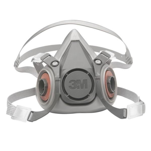 3M - 半面罩式可再用呼吸防護器 Medium 6200