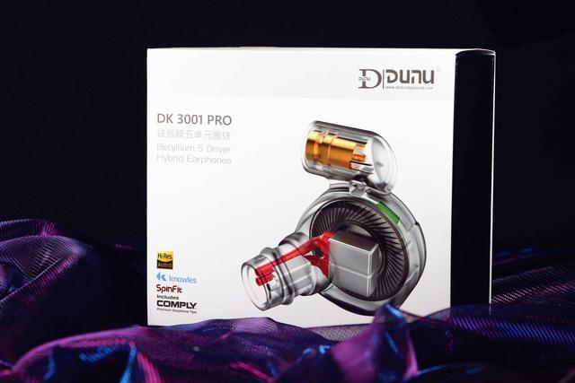 Dunu DK-3001 Pro(4BA + 1Dynamic)DK3001 Pro 鈹振膜五單元圈鐵次旗艦 混合MMCX 入耳式耳機