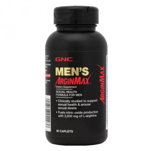GNC MEN'S ARGINMAX 男士礦物質人參精華銀杏精華膳食纖維 [90粒]