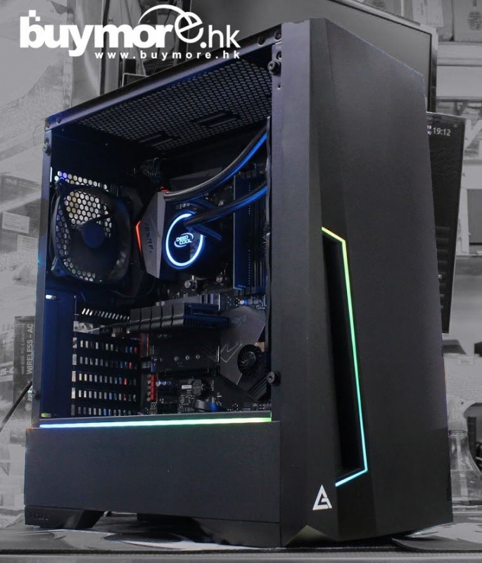 未來科技 AMD Ryzen 7 3700X / GIGABYTE X570 AORUS ELITE / G.SKILL Aegis 16G DDR4-3000 / Samsung 970 EVO Plus NVMe SSD / Galax GT1030 / Antec DP501 / MWE 650W