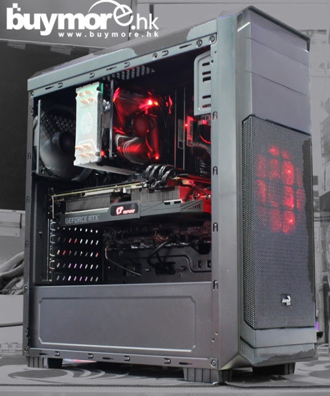 未來科技 AMD Ryzen 5 3600 / MSI B450M MORTAR / G.SKILL Aegis 8G DDR4-3000 / ADATA SX8200 256G NVMe SSD / iGame RTX2060 SUPER / AEROCOOL 300 / MWE 650W