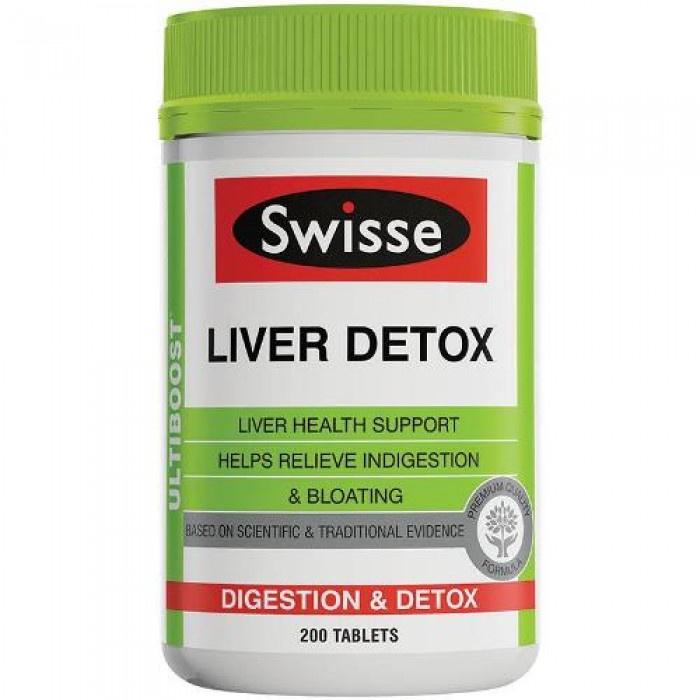 SWISSE 護肝片 LIVER DETOX (200片裝)