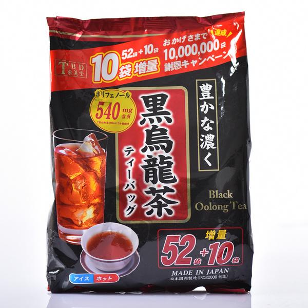 東美堂 黑烏龍茶 TBD Black Oolong Tea (增量52+10包)