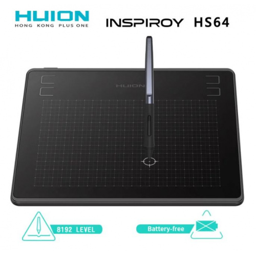 Huion Inspiroy 繪圖板 HS64
