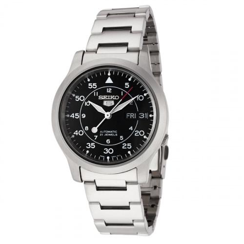 SEIKO 5 精工 SNK809K1 不鏽鋼 機械男錶