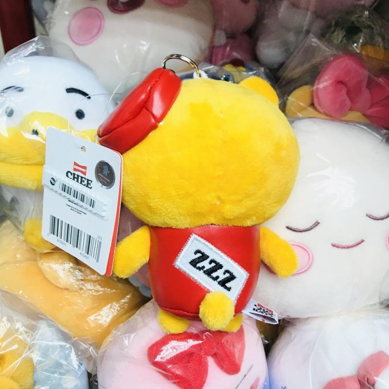 全新 韓國限定 KAKAO FRIENDS CHEEZZZBALL Ryan公仔 13CM 鎖匙扣 Keychain 正品 現貨