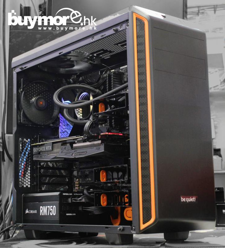 未來科技 Intel Core i9-9900K / ASUS ROG Z390-E / Corsair 16G / ADATA SX8200 512GB NVMe SSD / ASUS ROG RTX2060 8G / BE QUIET PURE BASE 600 / Corsair RM750 / NZXT