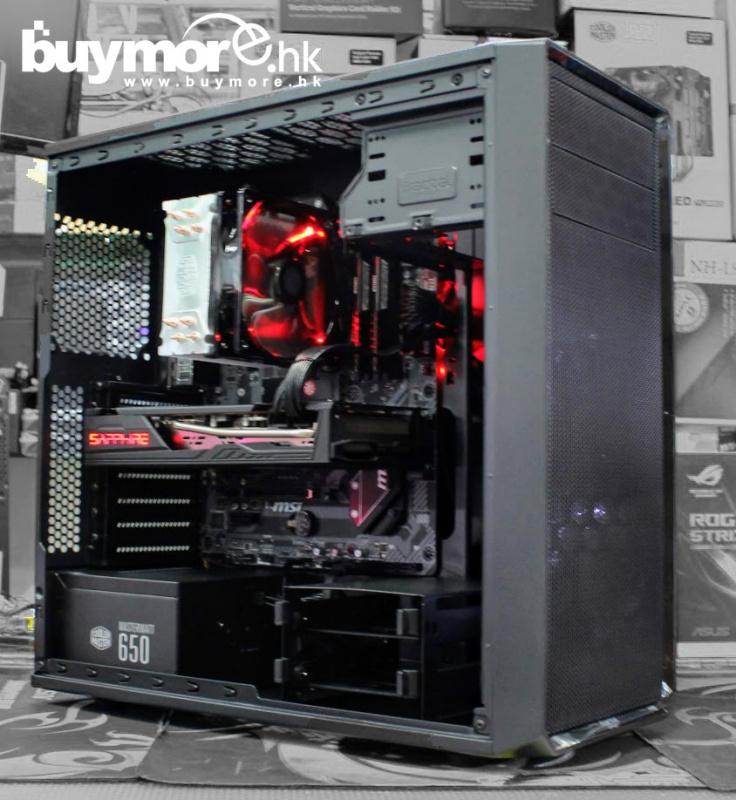 未來科技 AMD Ryzen 5 3600 / MSI B450 TOMAHAWK MAX / Corsair LPX 16G / ADATA SX8200 256GB NVMe SSD /SAPPHIRE RX5700 PULSE / Fractal Design Focus G / MWE 650w