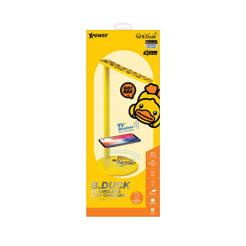 B.Duck WDL 9V快充無線充電LED檯燈