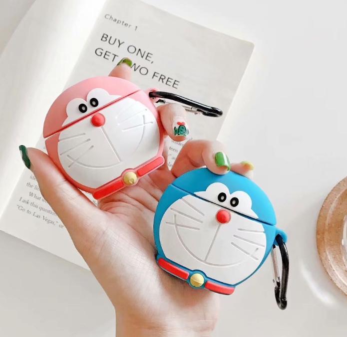 哆啦A夢 Airpods 矽膠保護套 [兩色]
