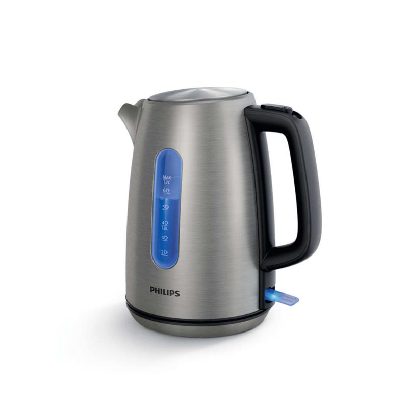 Philips - 1.7L 無線不銹鋼電熱水煲[HD9357]