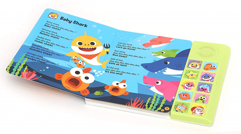 Pinkfong Baby Shark Sound Book 英文發聲音樂書