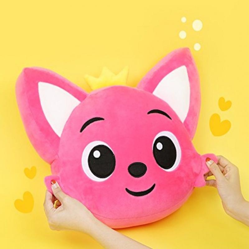 Pinkfong Face Cushion