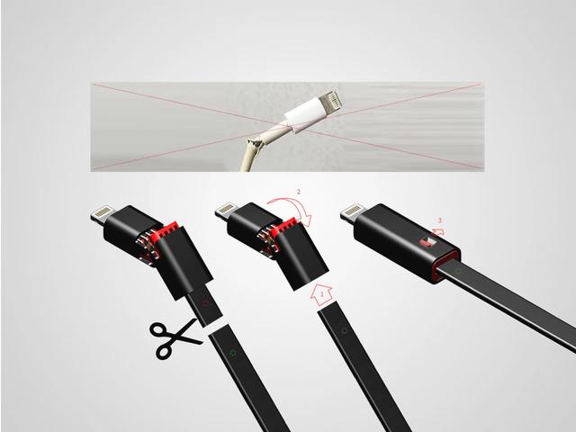 Sirteen Renew Lighting / Type-c 可重生USB線