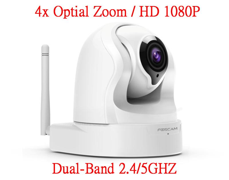 Foscam FI9926P 4倍光學變焦雙頻2.4/5GHz