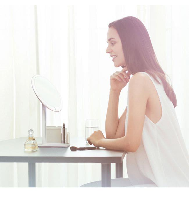 小米 AMIRO MINI 迷你高清日光LED化妝鏡 便攜梳妝鏡