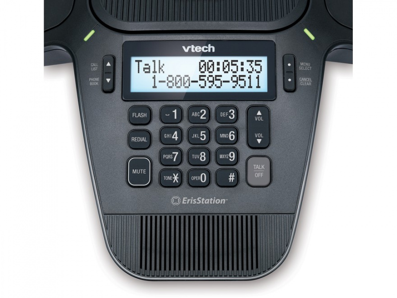 VTech VCS704A ErisStation 會議電話連4個無線咪 (PSTN Conference phone with 4 Wireless Mics Analog Line)